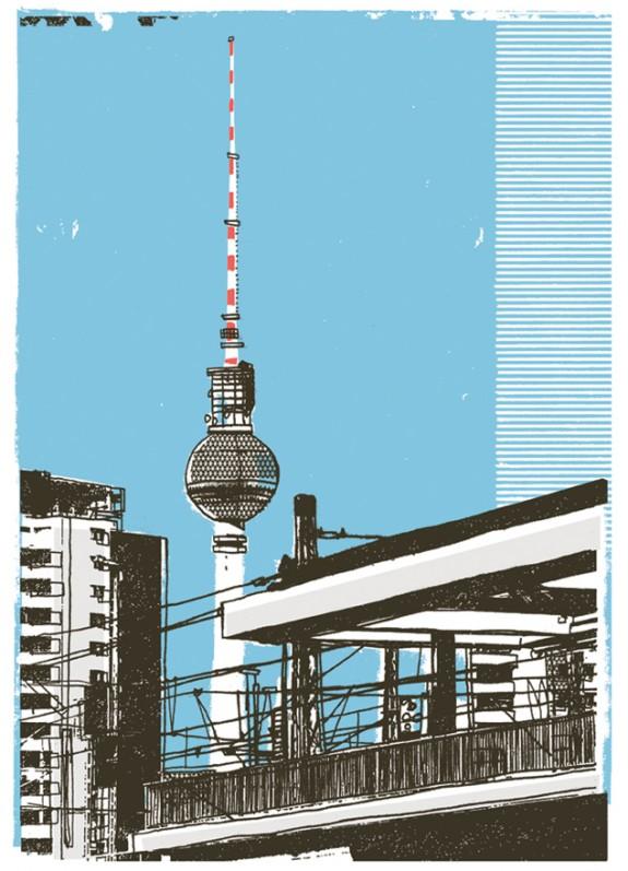 Fernsehturm Berlin poster