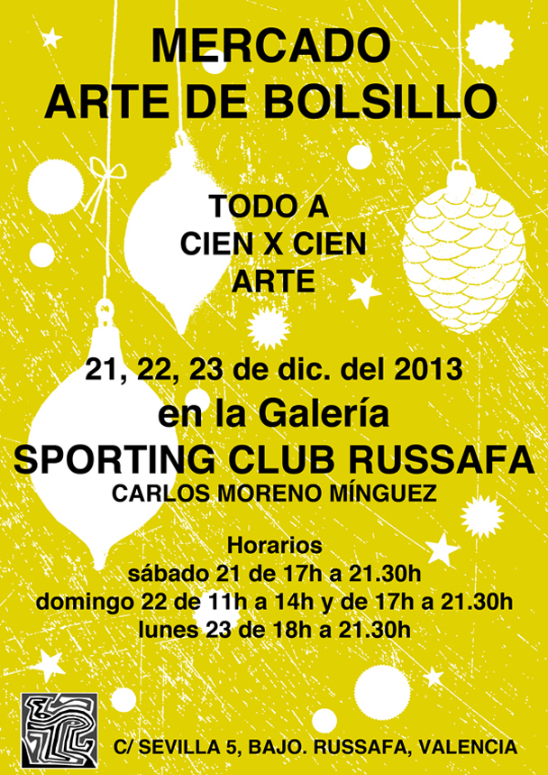 cartel mercadillo russafa