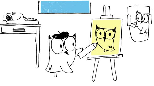 scene 3 owl ani